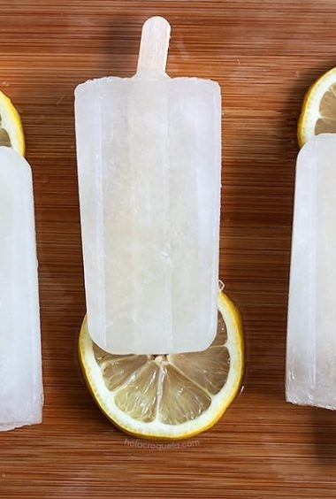 Honey Whiskey Lemonade Popsicles