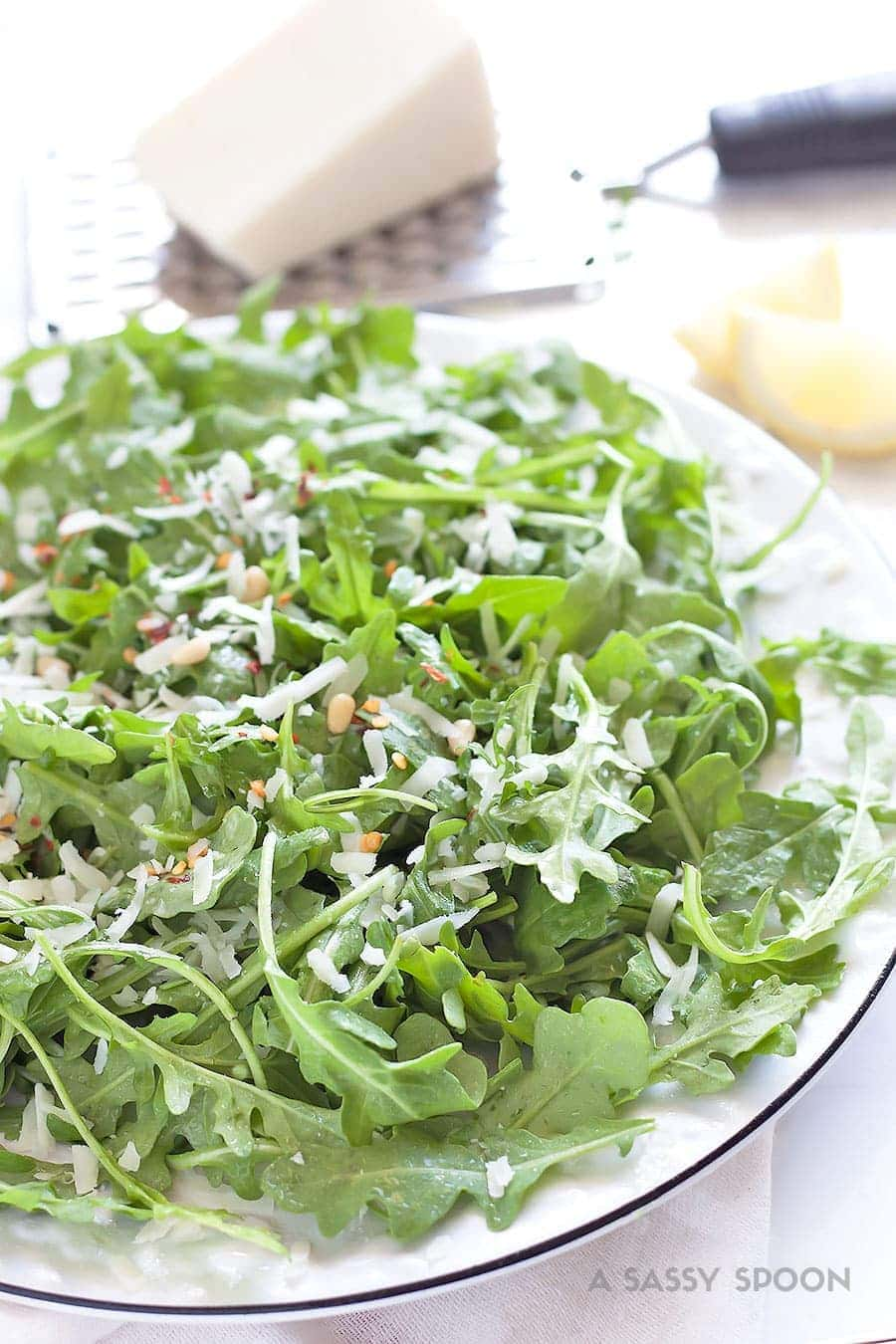 how to make salad with olive oil
