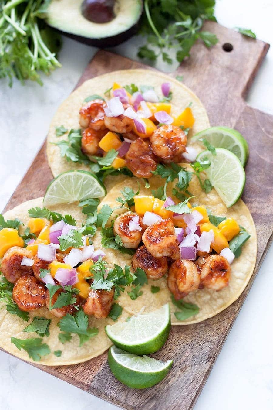 how to cook shrimp for tacos