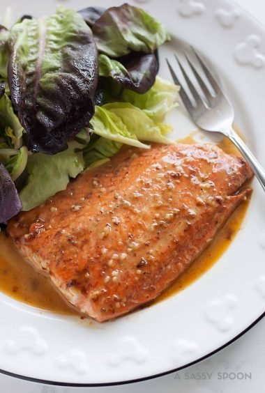 15-Minute Honey Mustard Salmon
