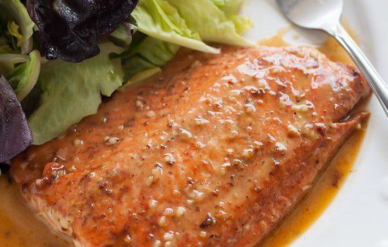 15-Minute Honey Mustard Salmon