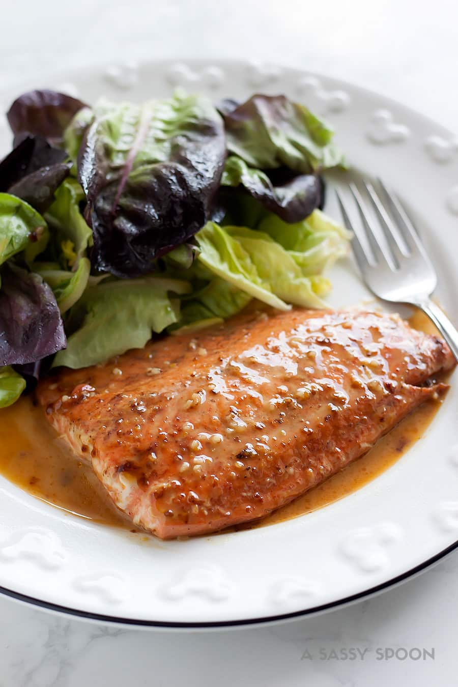 9b054783b827 Insanely easy-to-make and flavorful honey mustard salmon ready in less than  15