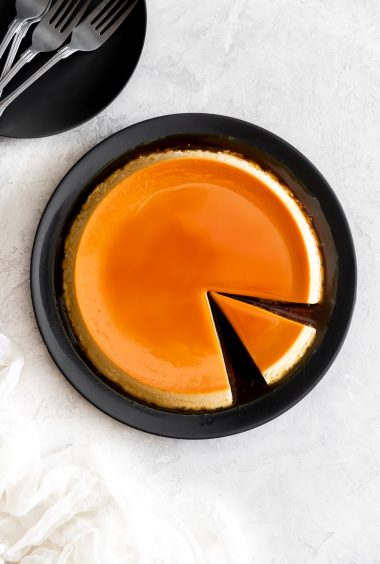Cream Cheese Flan (Flan de Queso)