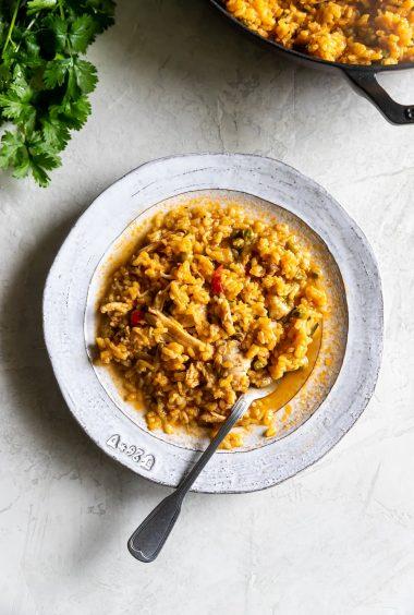Arroz Con Pollo A La Chorrera (Cuban Chicken + Rice)