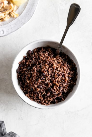 Cuban Rice & Beans Recipe (Moros/Arroz Congri)