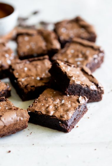 The BEST Chewy Fudgy Brownies