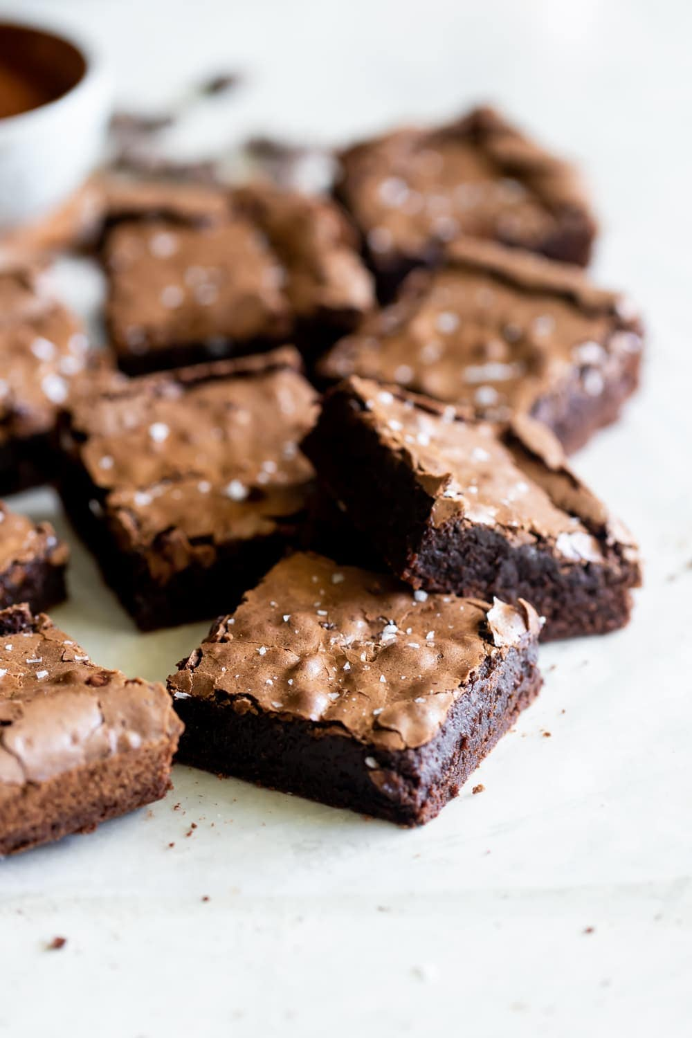 The Best Chewy Fudgy Brownies A Sassy Spoon