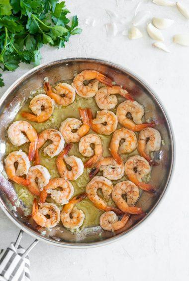 15-Minute Shrimp in Garlic Sauce (Camarones Al Ajillo)