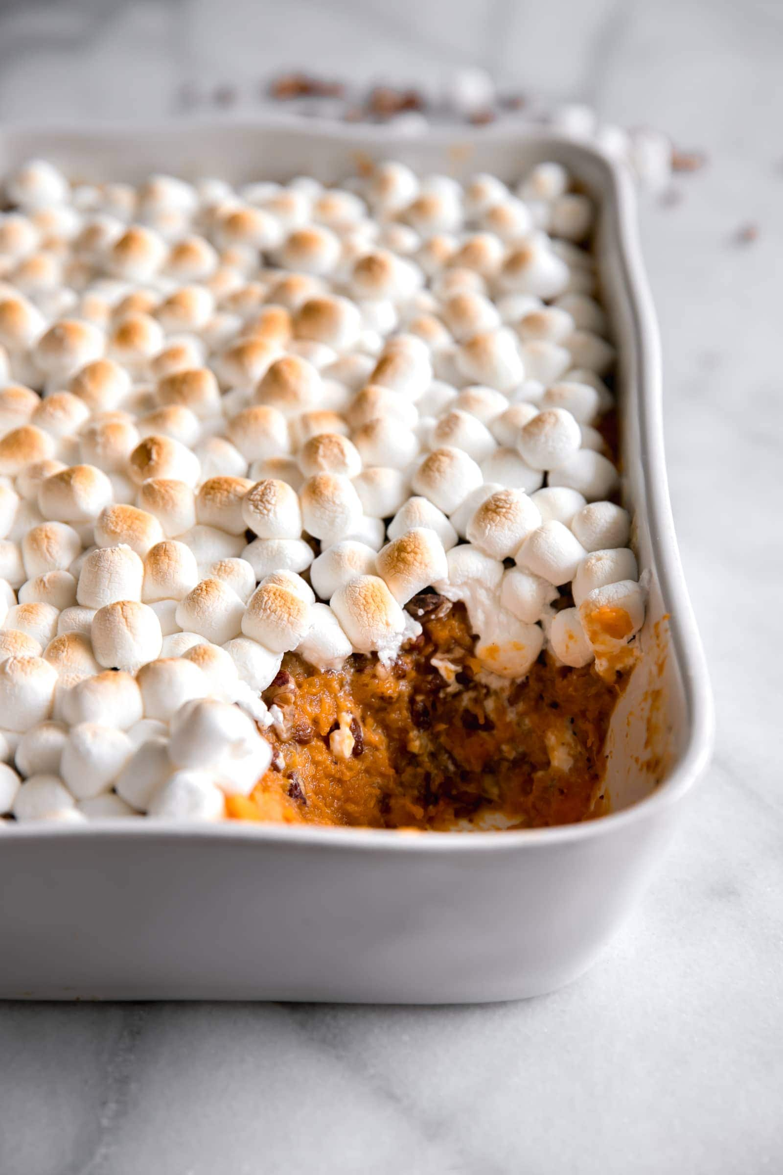 Easy Sweet Potato Casserole Recipe - A Sassy Spoon