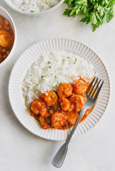Cuban Shrimp Creole Recipe (Camarones Enchilados)