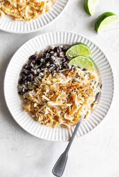 Cuban-Style Crispy Shredded Chicken (Vaca Frita de Pollo)