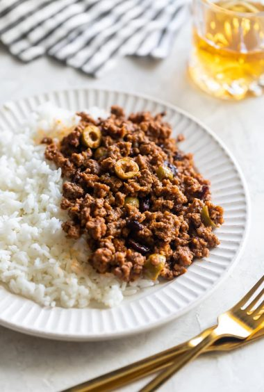 Cuban-Style Beef Picadillo Recipe