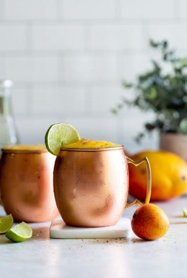 Frozen Mango Moscow Mule Recipe