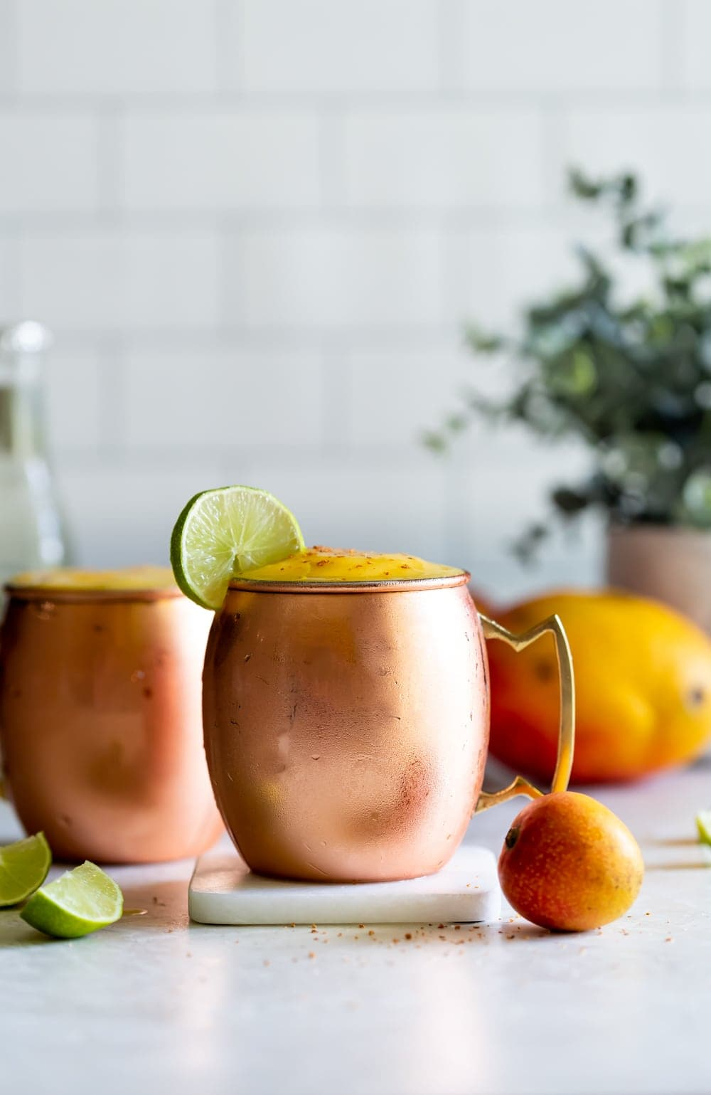 Frozen Mango Moscow Mule Recipe A Sassy Spoon