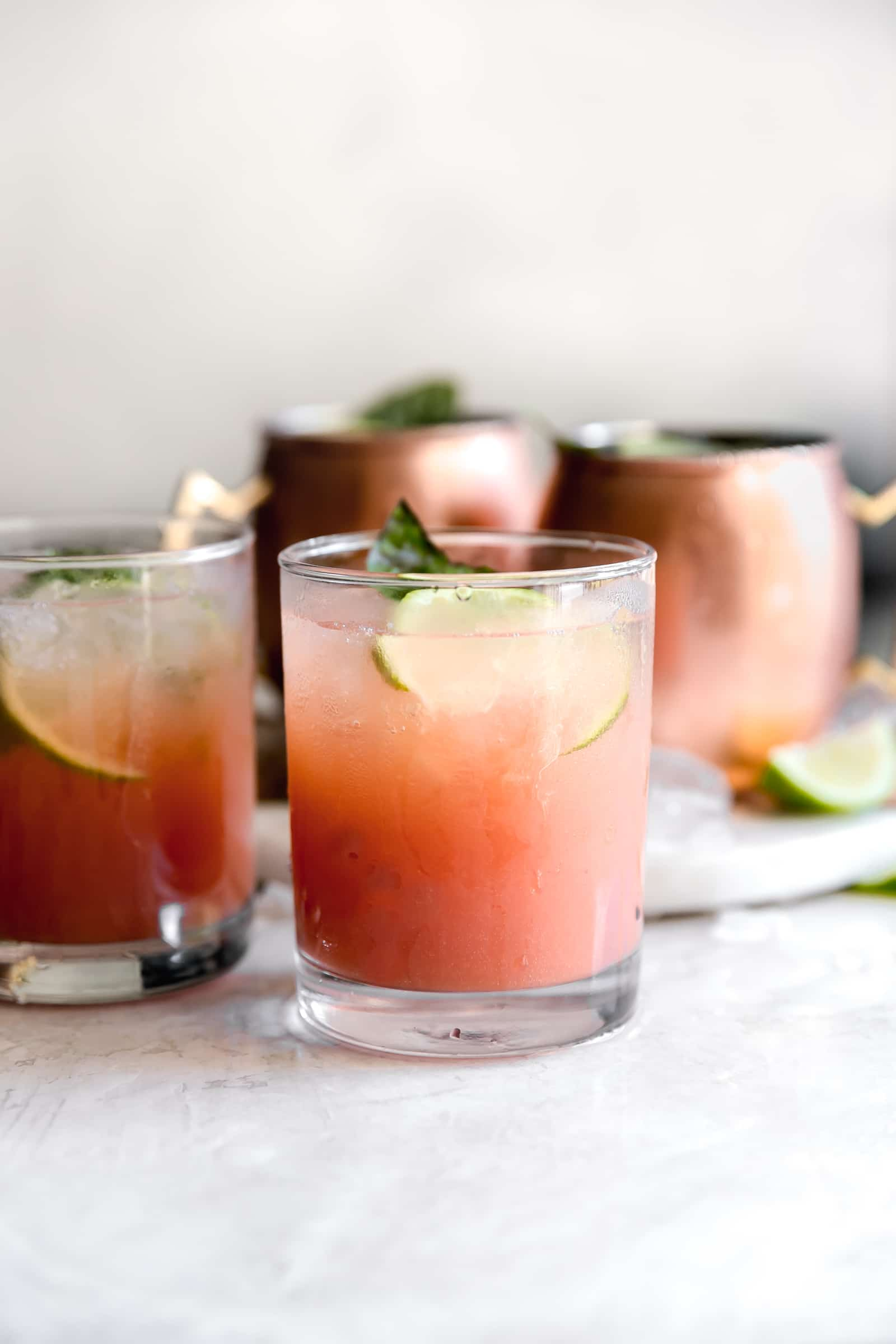 Guava Basil Moscow Mule Recipe A Sassy Spoon