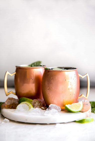 Guava Basil Moscow Mule