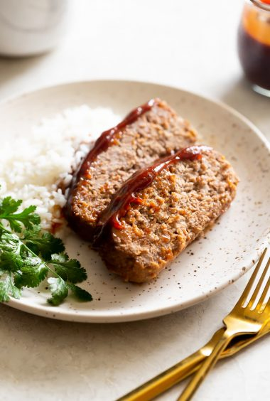 Guava BBQ Glazed Meatloaf Recipe