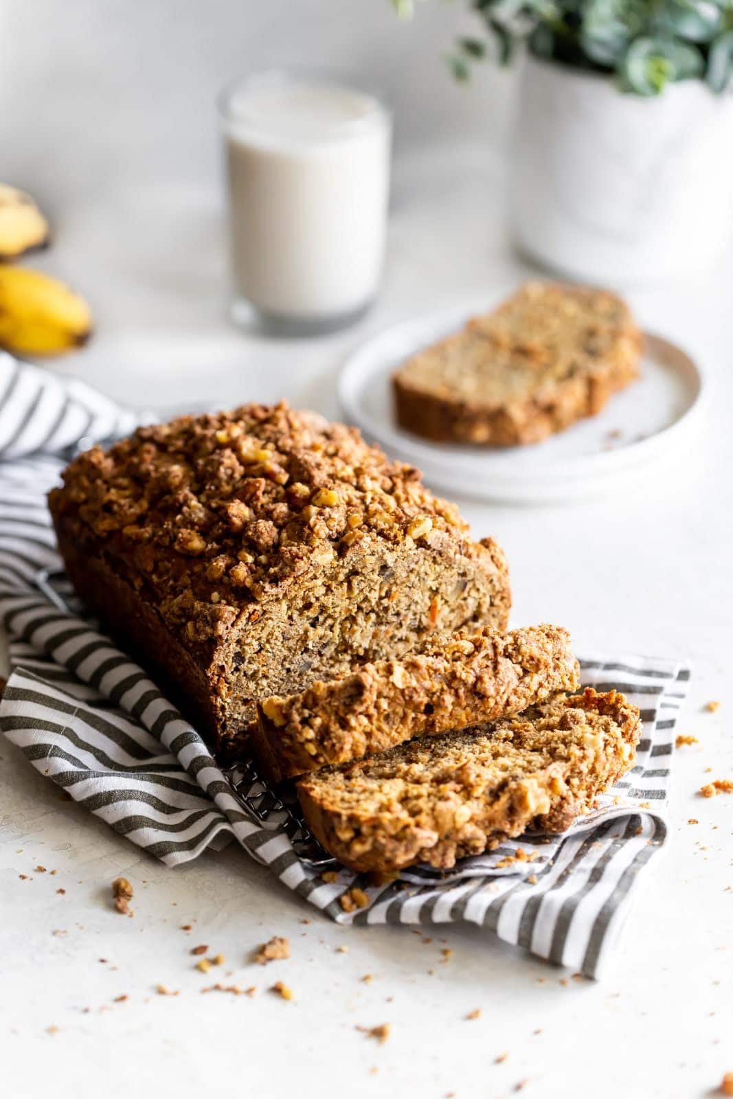 Healthy Carrot Cake Banana Bread Dairy Free Refined Sugar Free