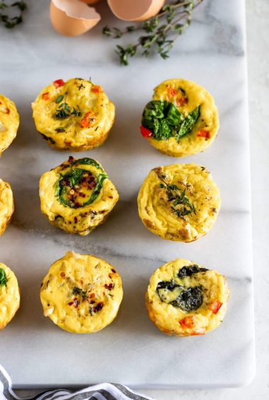 Healthy Egg Muffin Cups (Meal Prep Idea!)