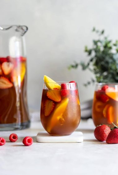Mango Berry Iced Tea Sangria
