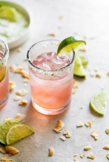 Guava Coconut Lime Margarita
