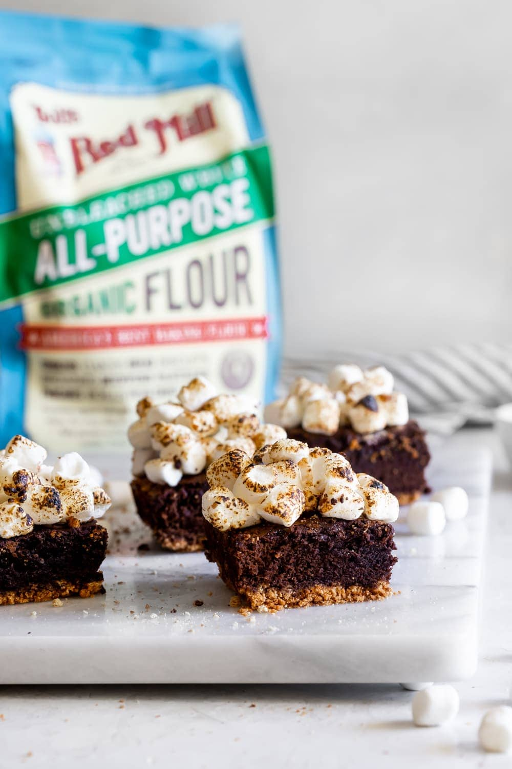 bobs red mill all-purpose flour with smores brownies