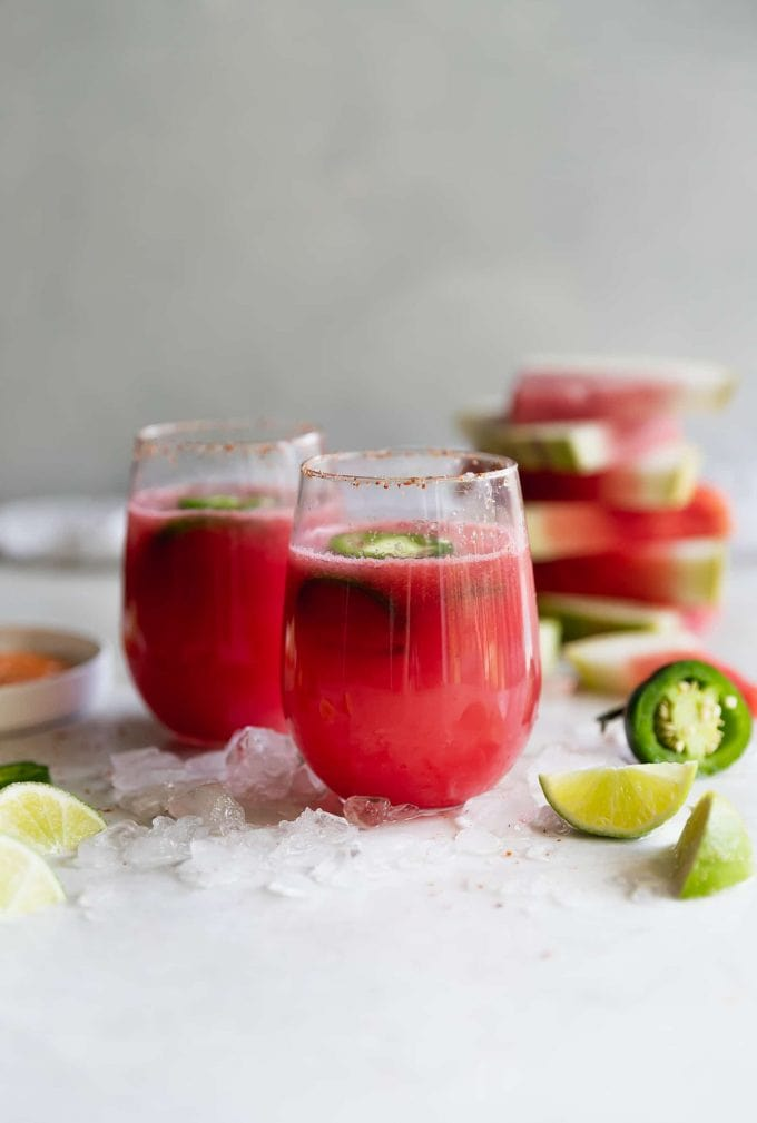 Spicy Tequila Watermelon Punch