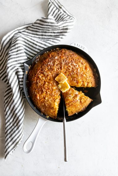 Sweet & Spicy Honey Cornbread